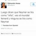 La prueba de que Neymar no se tira como niña