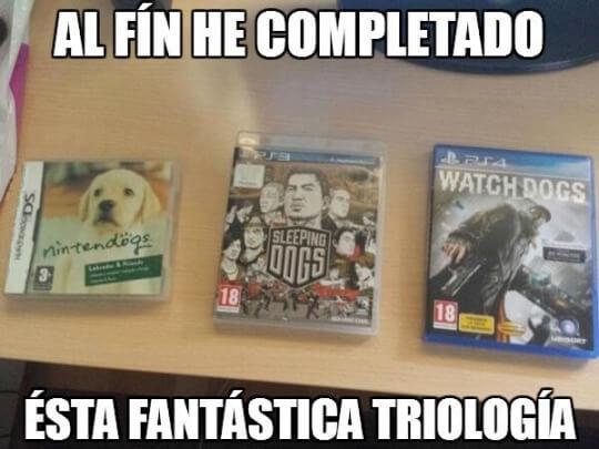 La trilogia dogs en diferentes plataformas