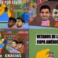 Los vetados de la Copa America