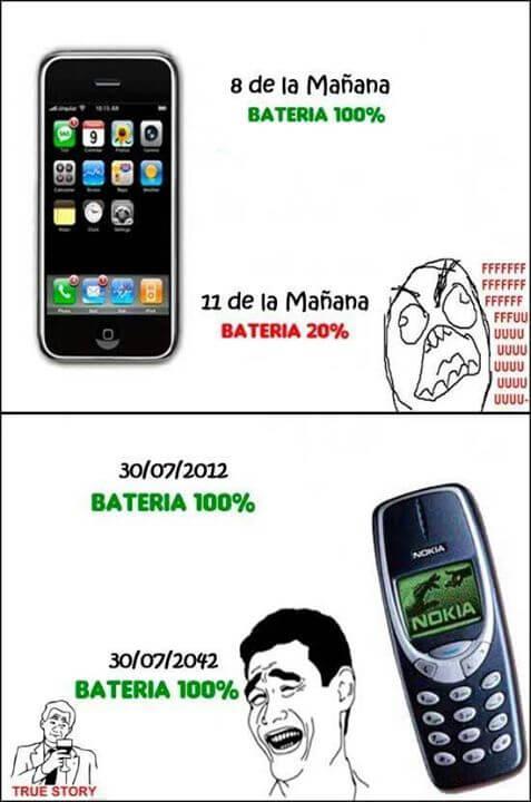 Nokia vs telefonos modernos