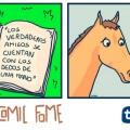 Porque los caballos no tienen amigos