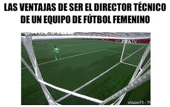 Porque quiero ser tecnico del futbol femenino