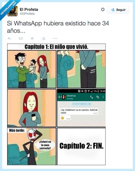 Si WhatsApp hubiera existido existido hace 34 años