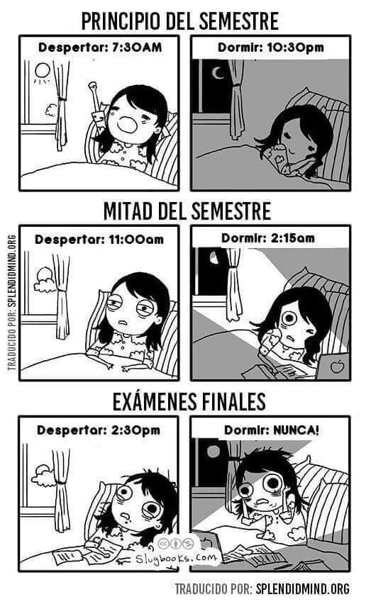 Sueños de un universitario
