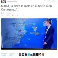 Un calor de locos en cartagena