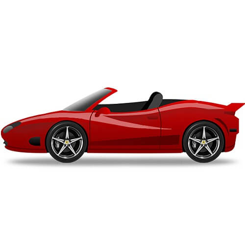 Cartoon Sports Car Gif