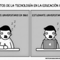 Como la tecnologia afecta la educacion moderna