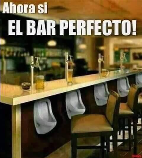 El bar perfecto para hombres