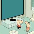 El problema con las pantallas grandes