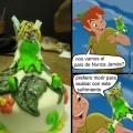 Estos pasteles extraños de personajes Disney