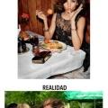 Fotos de facebook de chicas comiendo
