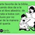 La parte favorita de la biblia
