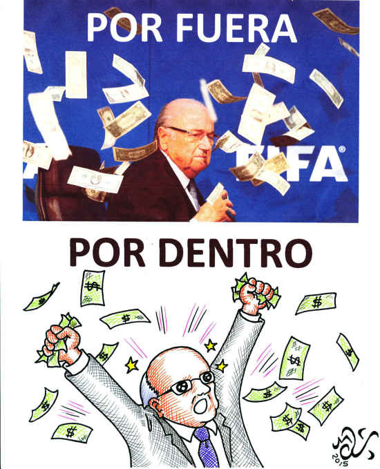 La verdad destras de Blatter