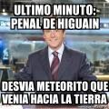 La verdadera razon para que Higuain fallara el penal