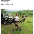Palo de selfie ruso