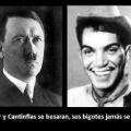 Si Hitler y cantinflas se besaran