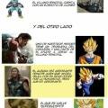 Avengers era de ultron es un gran plagio de Dragon Ball Z