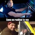 Como piensas que te vez cuando tienes un auto