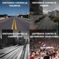 Marchas de cristianos