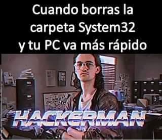 Cuando intentas hacer que el PC vaya mas rapido