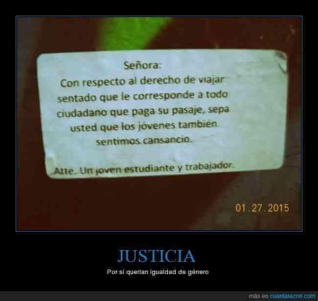 Justicia para los jovenes