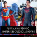 La evolucion impensada de Superman
