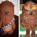 La fallida torta de Chewbacca
