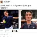 La nueva figura de cera de Federer