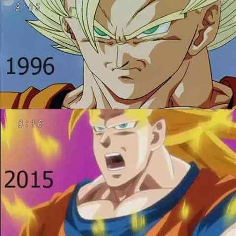 Que han hecho con la animacion de Dragon Ball
