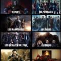 Si los Superheroes representaran a estudiantes