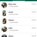 Asi se ve el Whatsapp de un hombre