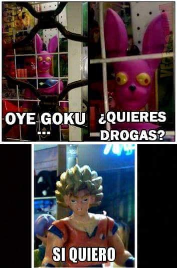 Como la droga puede afectar a Dragon Ball