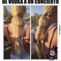 Como las mujeres ingresan alcohol a conciertos