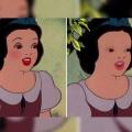 Como seria Blancanieves sin maquillaje