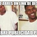 Cuando el link de descarga no tiene publicidad
