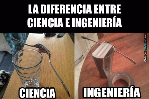 Diferencia entre ciencia e ingenieria
