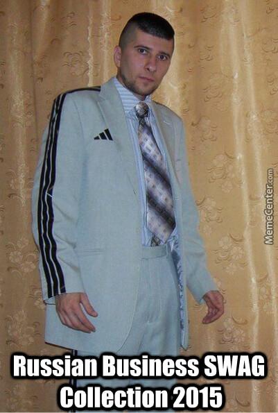 El nuevo traje de negocios que revolucionara Rusia