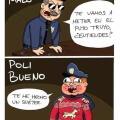 El policia malo vs el policia bueno