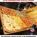 El reto de la pizza que te puede hacer ganar 1000 dolares