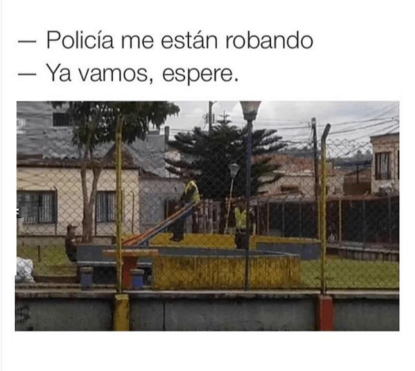 La eficiencia de la policia