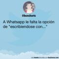 La opcion que falta en Whatsapp