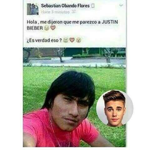 La persona increiblemente parecido a Justin Bieber