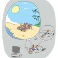 Las vacaciones que una mujer desea vs las de un hombre