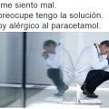 Alergico al paracetamol