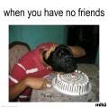 Cuando no tienes amigos