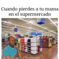 Cuando pierdes a tu madre en el supermercado