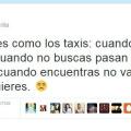 El amor es como los taxis