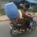 El casco para suegras