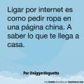 El ligar por Internet