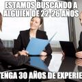 Experiencia laboral y su logica